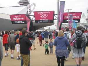Getting organised for the Olympics - getting there